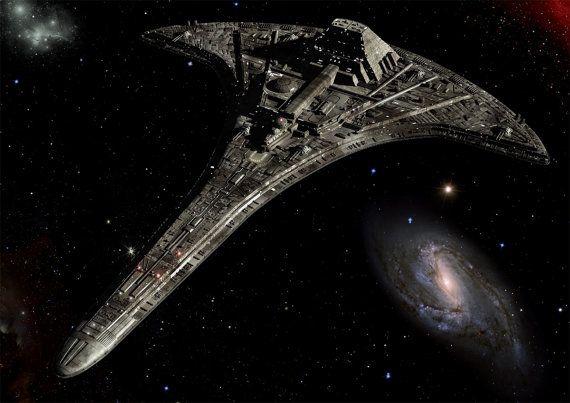 Stargate Universe Digital Art  Glossy Print  by SaganDigitalArt