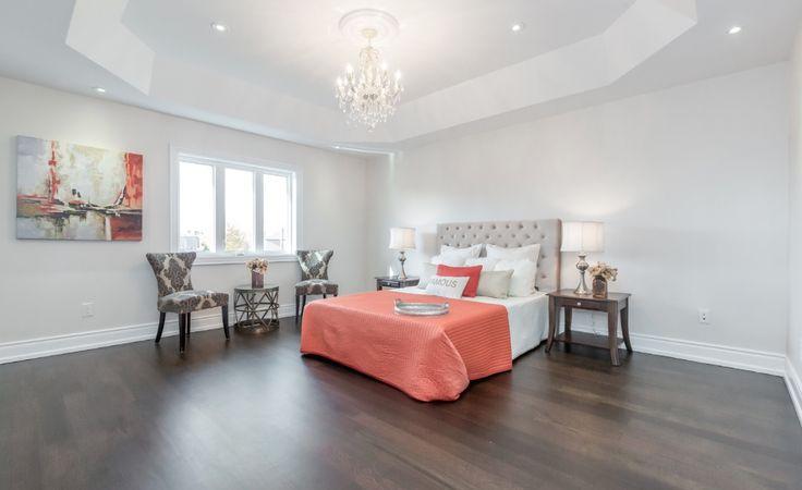 Masterbedroom, Jatoba hardwood floor