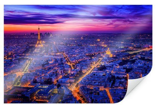 Poster - PosterMiguel - Parigi di notte