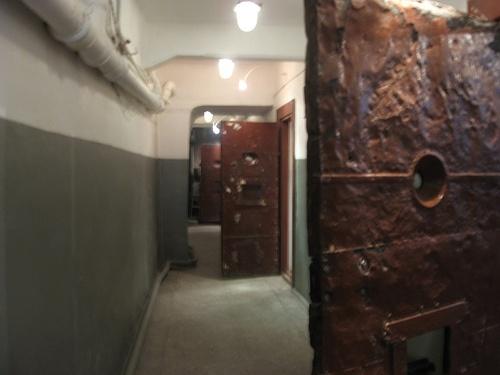 Prison cell doors, Museum of the Soviet Secret Police, Tomsk.JPG by j neuberger, via Flickr