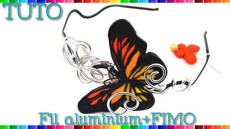 Les 25 meilleures id es de la cat gorie tutoriel fil d - Tuto bijoux pate fimo et fil aluminium ...