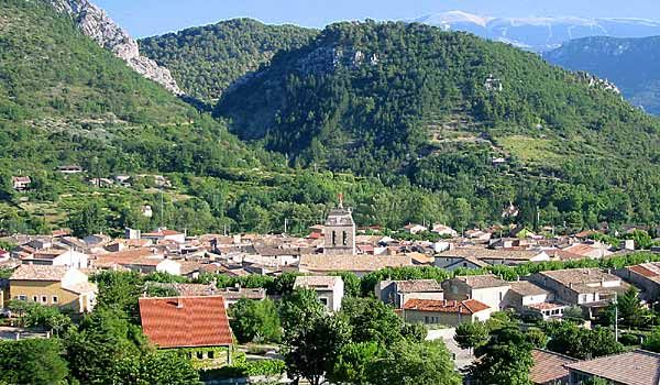 village of buis les baronnies