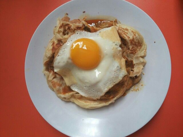 Canai Bread with Egg.. yumm!!