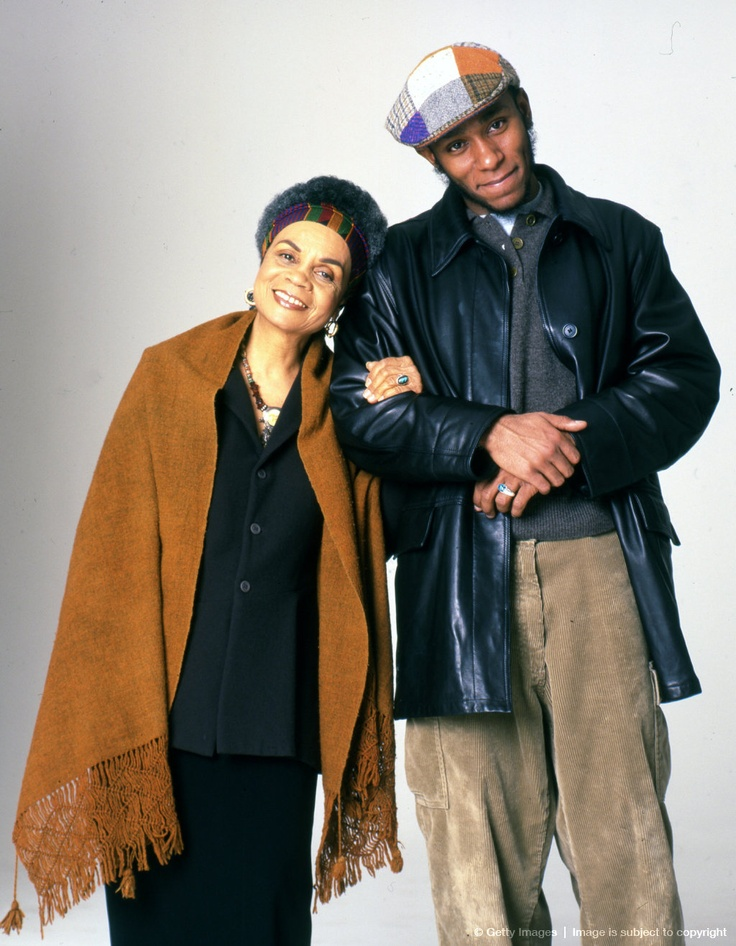 Portrait Of Sonia Sanchez & Mos Def...I love this so much