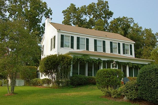 Wilmington, North Carolina, United States. Aka, the house of Dawson Leery from Dawson's Creek <3