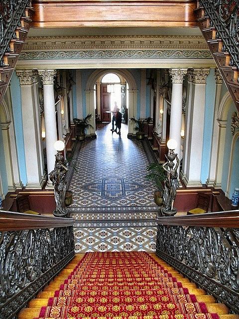Inside Werribee Park Mansion, Melbourne