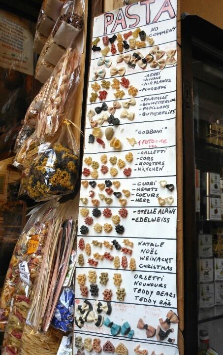 Types of pasta, Orta San Giulio