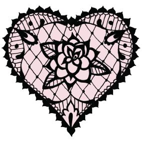 17 best ideas about lace heart on pinterest fabric for Gilded heart tattoo