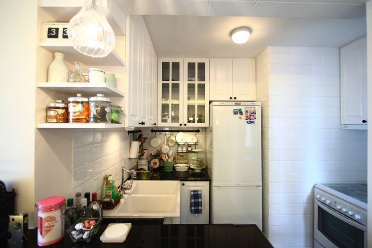 使い勝手の良さそうなコンパクト目のキッチン | 住宅デザイン
