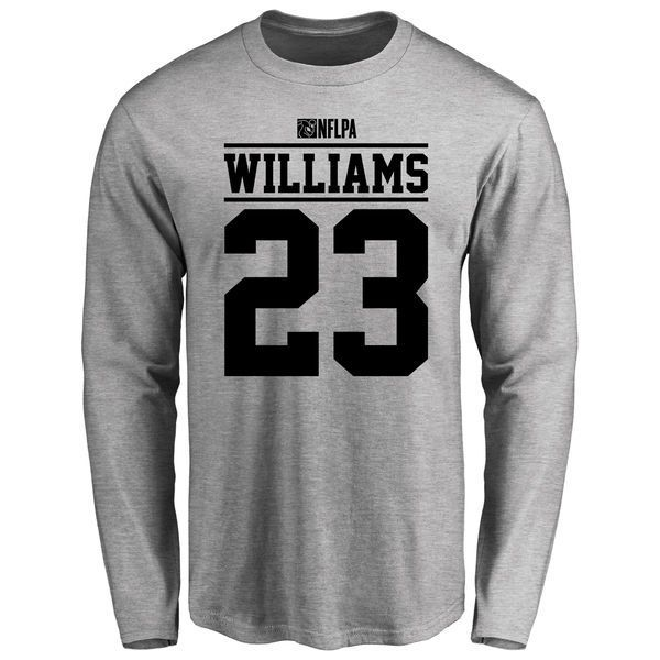 Steve Williams Player Issued Long Sleeve T-Shirt - Ash - $25.95