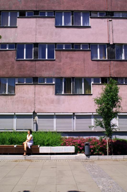 Pancernik student housing, Wrocław (PL), 60's (foto Leszek Golubiński via flickr)
