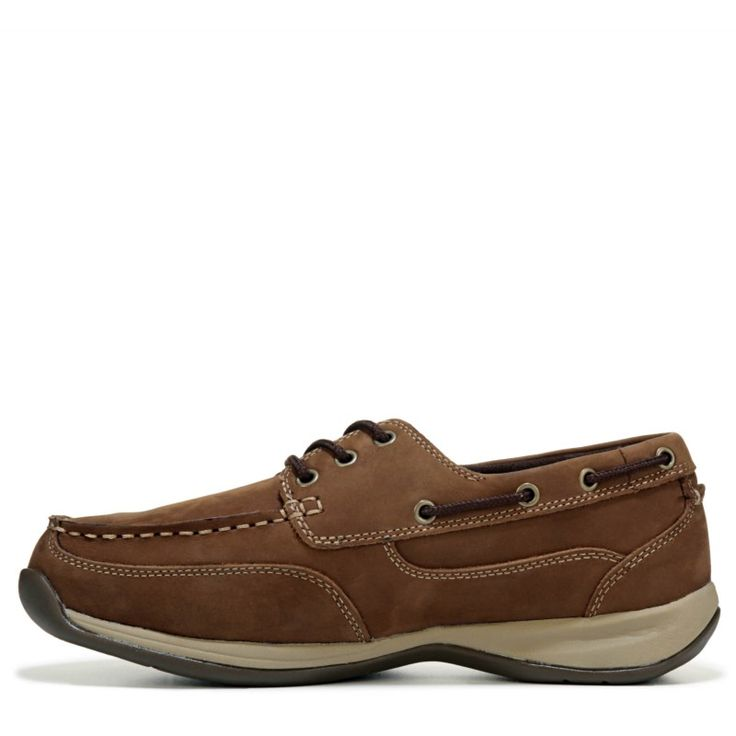 Rockport Works Men's Sailing Club Medium/Wide Steel Toe Boat Shoes (Brown Leather) - 11.5 M