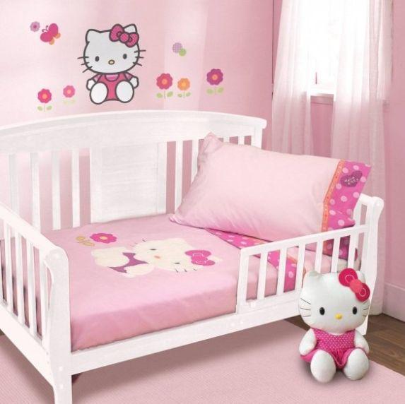Marvelous Hello Kitty Garden 4 Piece Toddler Bedding Set By Lambs U0026 Ivy Design Ideas