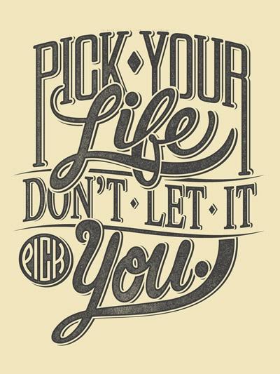 Pick Your Life Print / Arquebus