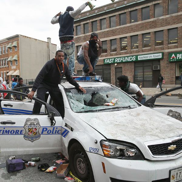 Riot-Plagued Baltimore Is a Catastrophe Entirely of the Democratic Party's Own Making.