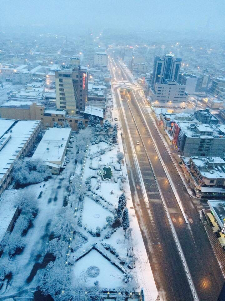 slemani city in snow (( beautiful kurdistan )) | Kurdistan ...