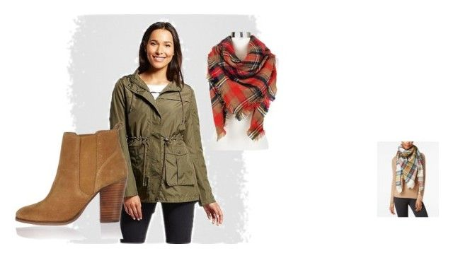 """""""Perfect Fall day outfit"""" by sheilahalter on Polyvore featuring Merona, Steve Madden, Sylvia Alexander and River Island"""