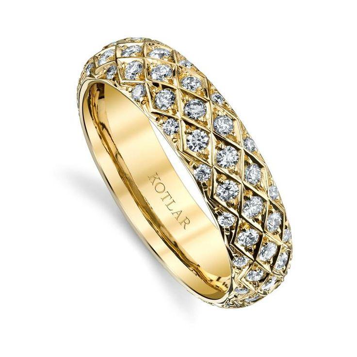 Harry Kotlar Pear Shape Diamond Solitaire Criss Cross Artisan Pave Necklace - 16 VaJIib5Fs