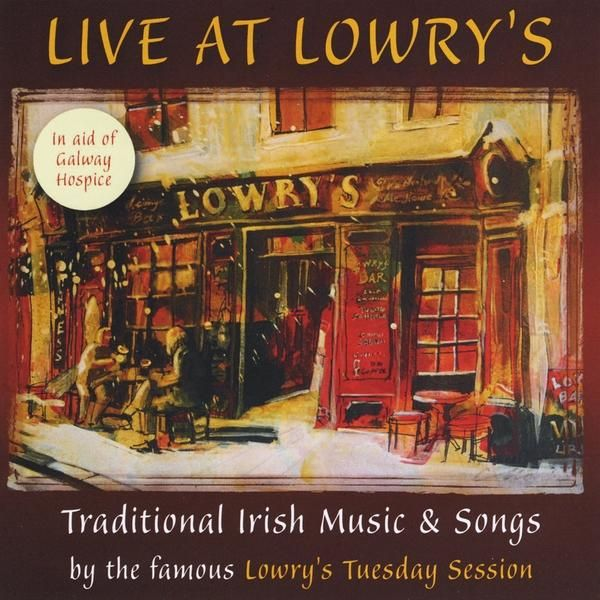 'Live at Lowry's' is the first album of traditional Irish Music and Song by Lowry's Famous Tuesday Session group recorded live at Lowry's music bar in Clifden, the wonderful Capital of Connemara. The