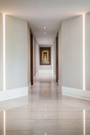 high ceiling hallway