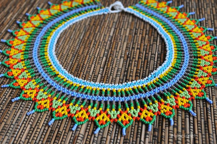 Choker boho style from Colombia