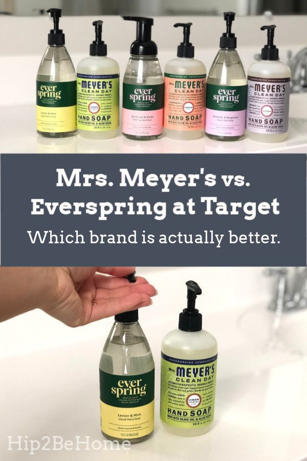 Mrs Meyer Meyers Cleaning Products Spring Hand Soap Surface Wipes