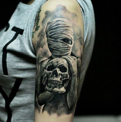 17 Best Ideas About Girl Skull Tattoos On Pinterest