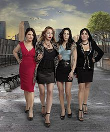 Mob wives...my Husband actually knows all of thier names, because I watcj this religiously and he watches with me! Love it!