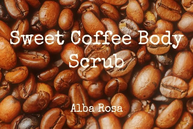 This simple scrub uses a mix of sugars to exfoliate and stimulate skin, while coffee can help to draw out impurities. Plus a little cinnamon...