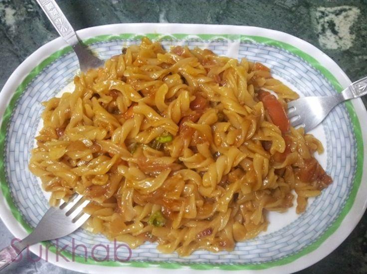 how to prepare pasta in telugu
