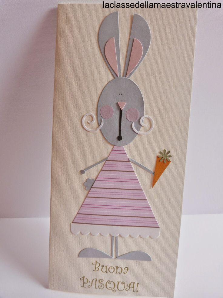 Care creative, dopo galline, colombe e pulcini, non potevano mancare i coniglietti.  Conigliette in realtà... e molto eleganti.           ...