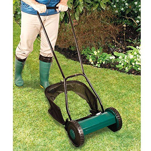 Hand Push Manual Garden Lawn Mower---39.99---