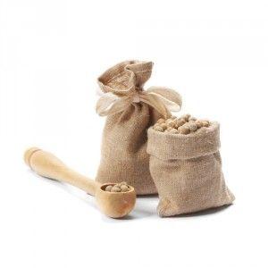 Jute zakken noten