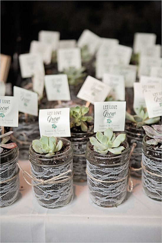 succulent wedding favors #weddingfavors @weddingchicks