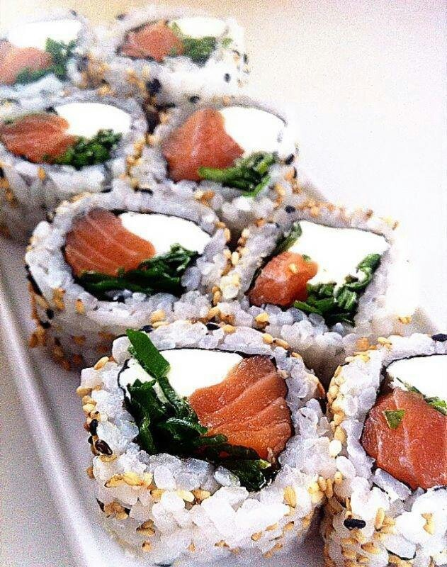 Sushi -- Philly rolls