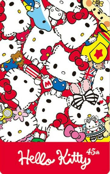 Hello Kitty 45th Anniversary Hello Kitty Hello Kitty Sanrio