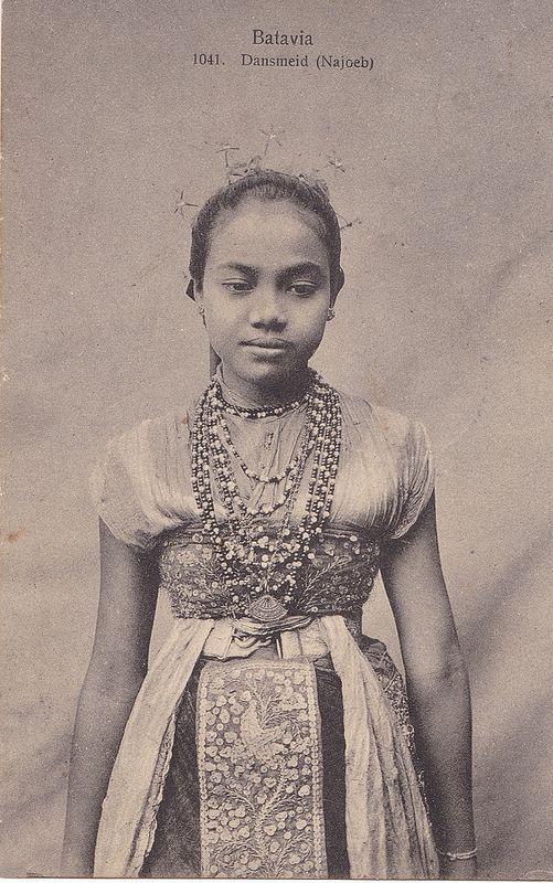 Tempo Doeloe #81 - Batavia, Penari, 1912