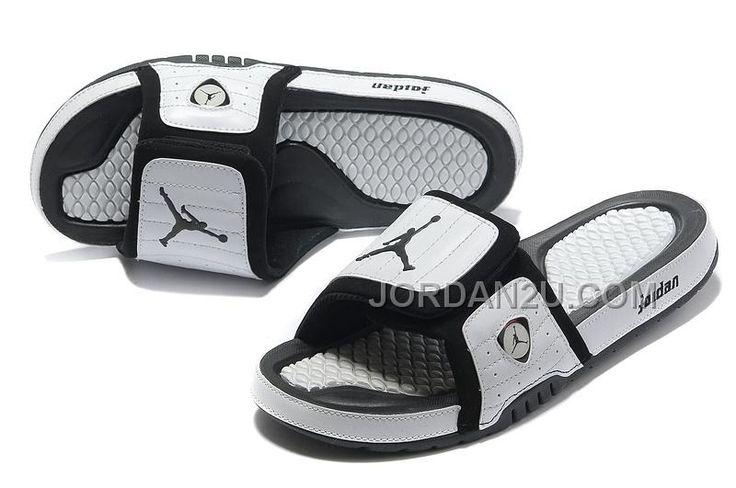 http://www.jordan2u.com/air-jordan-14-white-black-hydro-slide-sandals-for-sale-online.html Only$68.00 AIR #JORDAN 14 WHITE BLACK HYDRO SLIDE SANDALS FOR SALE ONLINE #Free #Shipping!