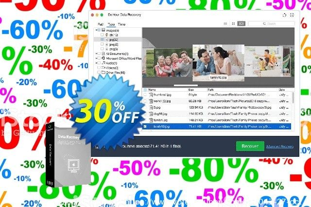 Do Your Data Recovery For Mac Professional 1 Year Coupon Code 30