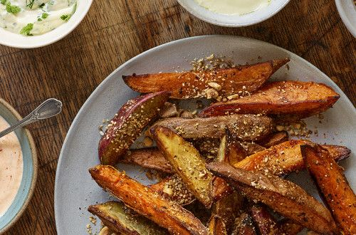 Dukkah-Dusted Wedges