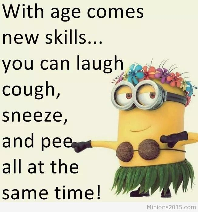 With age comes new skills