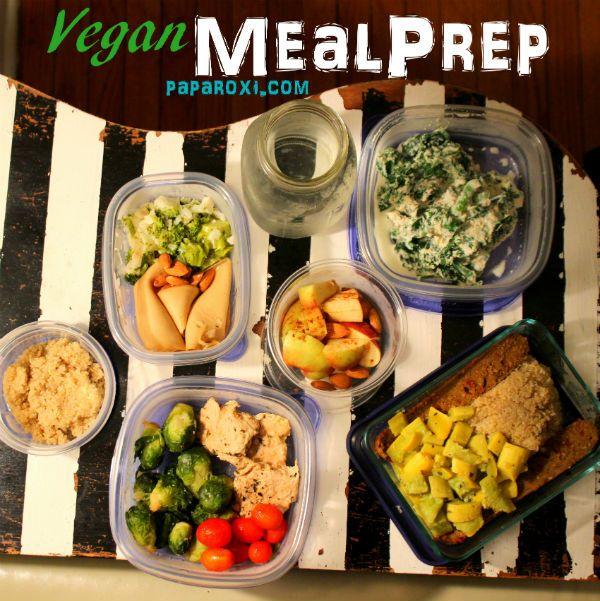 Vegan Meal Plans, Vegan Meal Prep