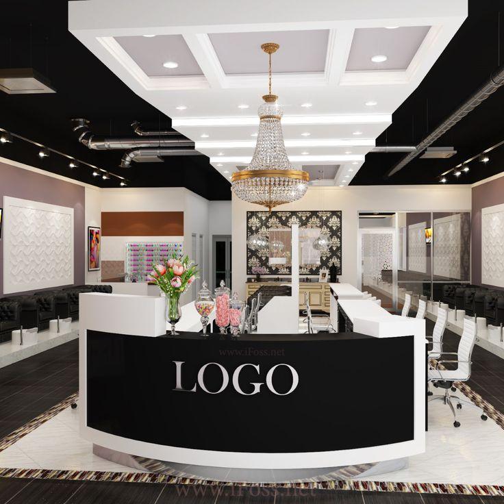top nail salon design ideas