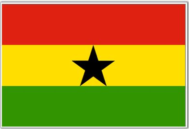 Ghana Flag - Download Picture of Blank Ghana Flag For Kids to Color