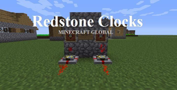 Redstone Clocks 1.5.2 | MINECRAFT GLOBAL