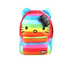 Hello Kitty Backpack: Rainbow Stripe $45