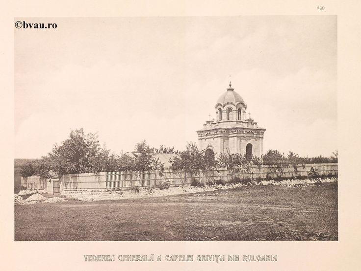 """Vedere Generală a Capelei Griviţa din Bulgaria, 1902, Romania. Ilustrație din colecțiile Bibliotecii Județene """"V.A. Urechia"""" Galați. http://stone.bvau.ro:8282/greenstone/cgi-bin/library.cgi?e=d-01000-00---off-0fotograf--00-1----0-10-0---0---0direct-10---4-------0-1l--11-en-50---20-about---00-3-1-00-0-0-11-1-0utfZz-8-00&a=d&c=fotograf&cl=CL1.43&d=J241_697980"""