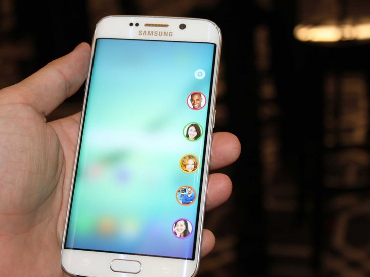 Here's your first look at Samsung's new phones: The Galaxy S 6 and Galaxy S 6 Edge