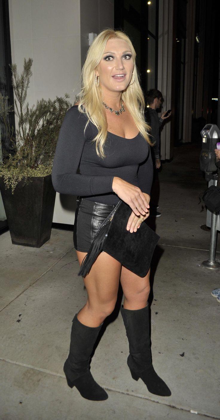 Brooke Hogan at Catch LA for dinner