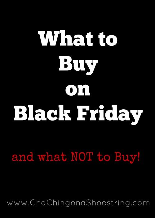 Want to know what to buy on Black Friday and what NOT to buy? This post has ALL the details. Plus make custom shopping lists for all your favorite stores!